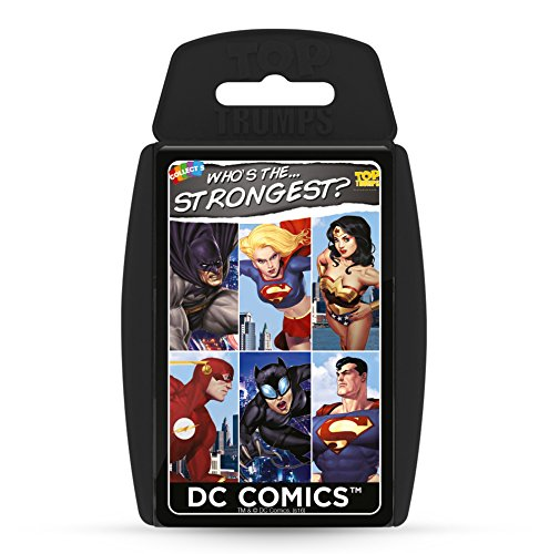 DC Superheroes Top Trumps Card Game | Educational