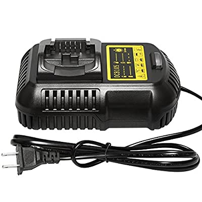 easyDecor Li-Ion Battery Charger 12V MAX and 20V MAX for Dewalt DCB105