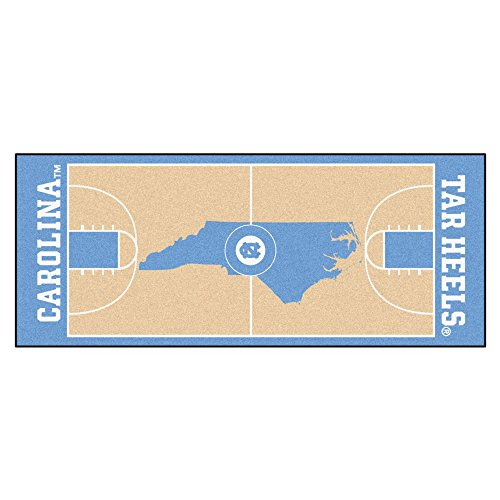 Fan Mats University of North Carolina Basketball Court Runner ()