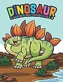 Dinosaur Coloring Books For Kids Ages 4-8: Fantastic Dinosaur Coloring Kids Book with 50 Diplodocus, Tyrannosaurus, Apatosaurus, Mosasaur, ... Boys, Girls Cartoon Dinosaur Colouring Book