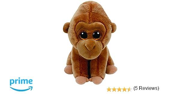 Ty - Beanie Babies Monroe, Gorila, 15 cm, Color marrón (United Labels Ibérica 42123TY): Amazon.es: Juguetes y juegos