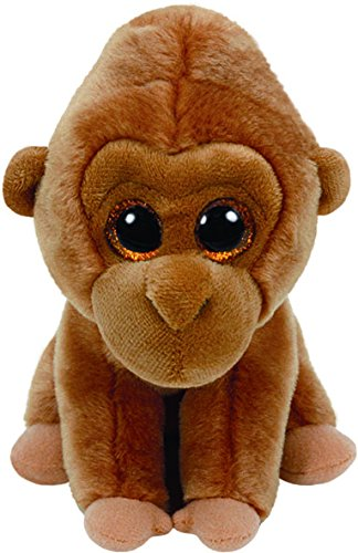 Tan Plush (Ty Monroe Gorilla Plush, Tan, Regular)