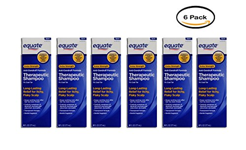 PACK OF 6 - Equate Extra Strength Anti-Dandruff Therapeutic