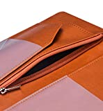 Server Books for Waitress - R64 Leather Waiter Book Server Wallet with Zipper Pocket, Cute Waitress Book&Waitstaff Organizer with Money Pocket Fit Server Apron(Classic