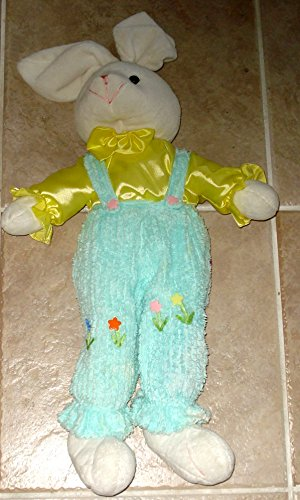 Bunny Rabbit Soft Plush With Soft Corduroy Pants - 22 Inches (Pant Corduroy Plush)