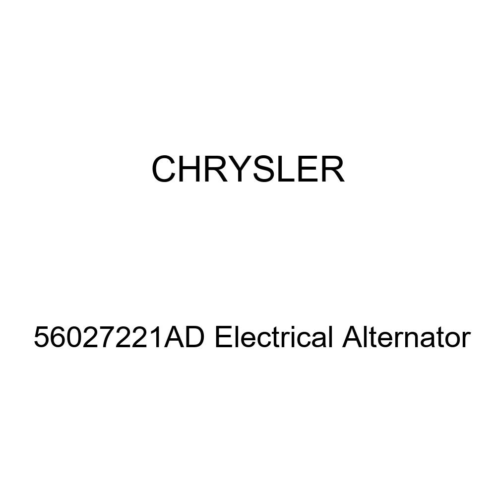 Genuine Chrysler 56027221AD Electrical Alternator