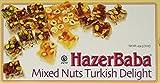 Hazerbaba Turkish Delight with Pistachio, Almond & Hazelnut – 1lb