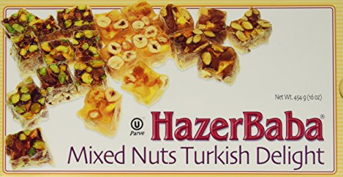Hazerbaba Turkish Delight Pistachio Hazelnut