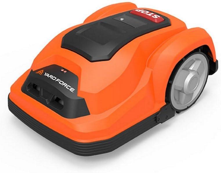 Yard Force SA600Robot CortaCésped,naranjay negro