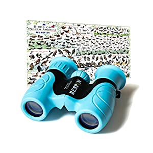 BESPIN Binoculars for Kids (Adopted by School) 8×21 Bird Watching, High-Resolution Real Optics for Wildlife Watching…