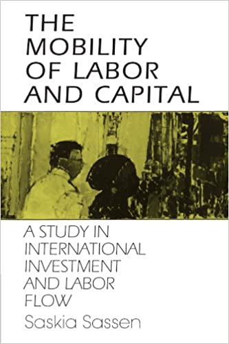 amazon the mobility of labor and capital a study in international