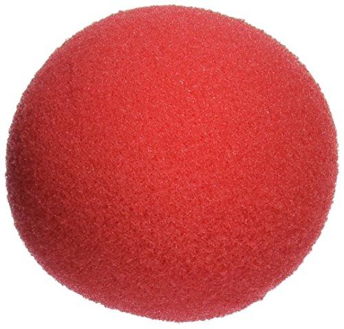 Rhode Island Novelty Foam Clown Noses, Red, 36 Pack -
