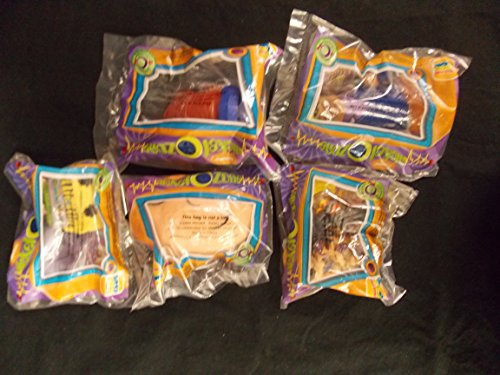 - Burger King Complete set of 1998 Nickel O Zone, Total 5 Figures, MIP