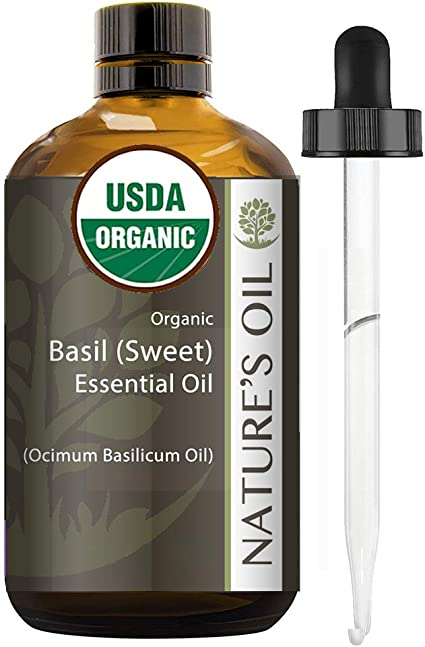Best Essential Oil 100 Pure Certified Organic Therapeutic Grade Basil Sweet 60 Ml Health Personal Care