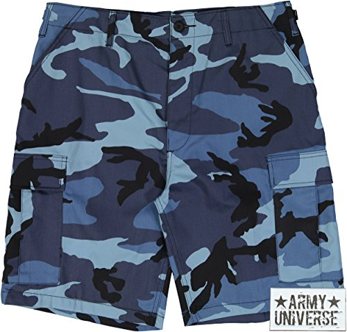 Cotton Sky Blue Camouflage - 5