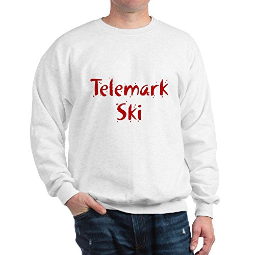CafePress - Telemark Ski - Classic Crew Neck Sweatshirt