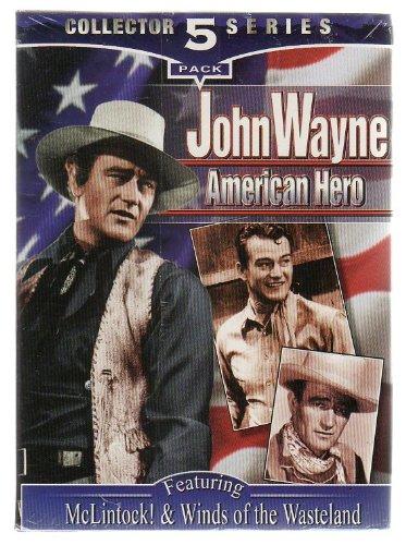 Read Online John Wayne American Hero - Collector 5 Series - 5 Pack of VHS PDF