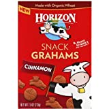 Horizon Cinnamon Snack Grahams, 7.5 oz, (Pack of 12)
