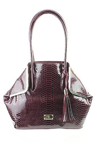 Inc International Concepts Women's Bianca Tote Wine Snake Bag from Unknown