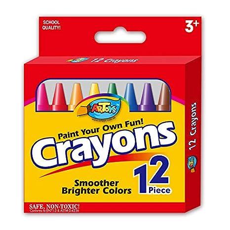 Graffiti Crayons - Pasteles de aceite lavables no tóxicos 12 ...