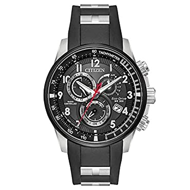 Citizen Eco-Drive AT4138-05E Mens PCAT Limited Edition AT Chrono Watch w/ Day-Date