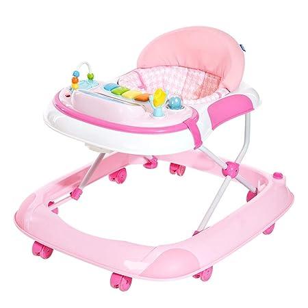 Axdwfd Andador ABS Baby Walker, Anti-colisión Rollover de pie ...