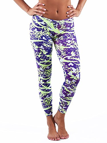 Dolfin Uglies Drag Swim Tights for Women | Swimming Pant Capris (L, ()