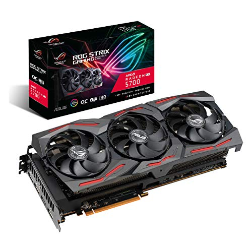 ASUS ROG Strix AMD Radeon RX 5700 Overclocked 8G GDDR6 HDMI DisplayPort Gaming Graphics Card (ROG-STRIX-RX5700-O8G-GAMING)