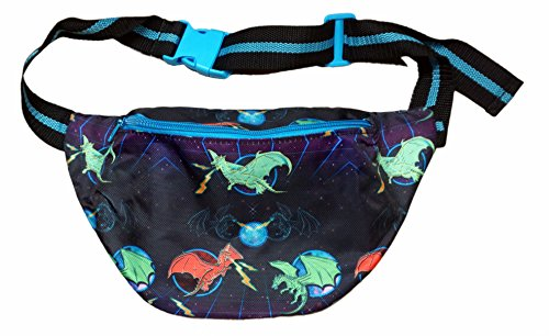 [Funny Guy Mugs Dragon Fanny Pack - Space Dragon] (Vintage Halloween Costumes From The 80s)