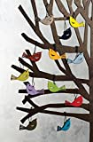 These colorful little bird decorations will brave the winter and ornament our holiday trees without the need for refilling the bird feeder. The set contains two birds in each of a rainbow of colors. Alternatively, they'll add a splash of colo...