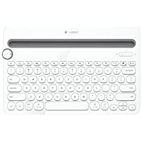 Logitech Bluetooth Multi-Device Keyboard K480 - White - for Windows and Mac Computers, Android and iOS Tablets and Smartphones