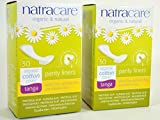 Natracare Organic Thong/Tanga Panty Liners (Pack of 2)