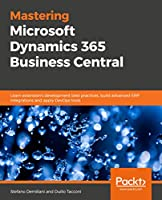 Mastering Microsoft Dynamics 365 Business Central Front Cover