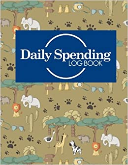 daily spending log book daily expense tracker notebook money