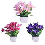 MARJON-FlowersSimulation-Daffodil-Artificial-Flower-Set-Silk-Flower-Mini-Potted-Home-Accessories-Fake-Flower-Bookshelf-Shelf-Window-Sill-Small-Ornaments-Sill-Small-Ornaments-Potted-Display-Wedding