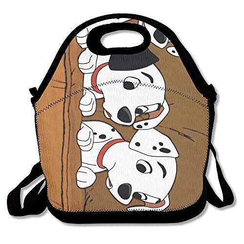 101 Dalmatians Travel Tote Lunch Bag