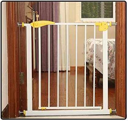 QIANDA Barrera de Seguridad Bebé Puerta de la Escalera Extra Ancho Compuerta De Presión Valla De Seguridad for Bebés Tabique Instalar En Cualquier Lugar for Escaleras (Size : 65-72cm): Amazon.es: Hogar