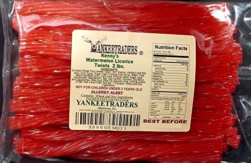 Kennys Licorice Watermelon Twist (Kenny's Watermelon Twist Licorice 2 Lbs)