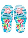 Shop Disney Ariel Little Mermaid Flip Flops Sandals for Girls - Beach Pool (7/8)