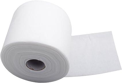 Frcolor 1 rollo desechable cara toalla facial algodón tejido ...