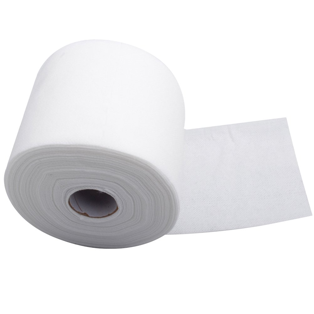 Frcolor 1 Roll Disposable Face Towel Facial Cotton Tissue Makeup Remover Cotton Pad