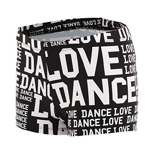 Alexandra Collection Womens Love Dance Athletic Booty Short