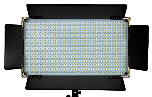 ALZO 16x9 Bi-Color LED 800 Light with Battery Kit, Ultra Lightweight AC/DC High CRI Video Light by ALZO Digital