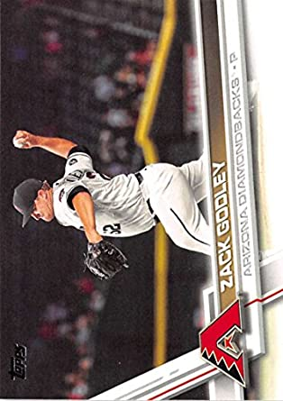 2017 Topps Series 2 #387 Zack Godley Arizona Diamondbacks Baseball Card