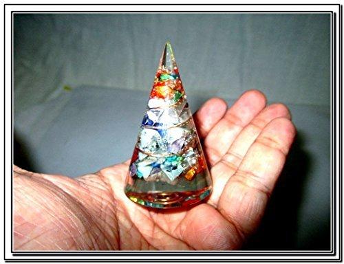 Shaped Pyramid Chokurei Crystal Gemstones