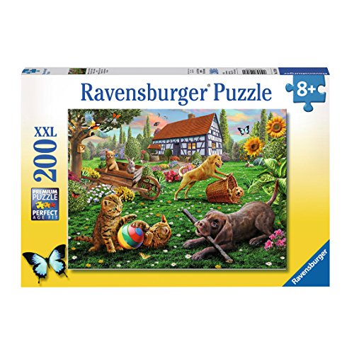 Ravensburger 128280 - Puzzle Les Explorateurs Sur Quatre Pattes 200 Pièces