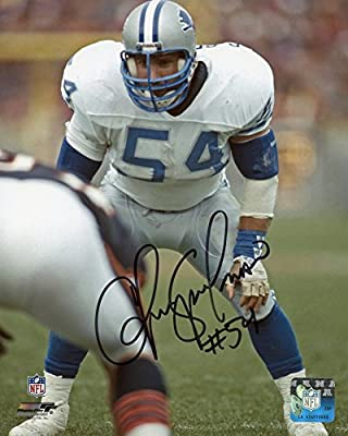 Chris Spielman Detroit Lions Signed 8x10 Photo - Certified Authentic