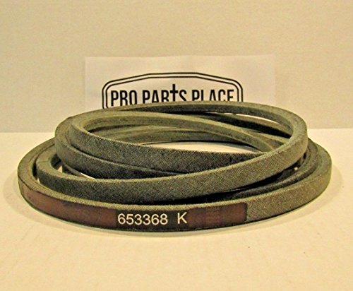 Pro Parts Place OEM SPEC REPLACEMENT DECK BELT FOR SNAPPER EXMARK 653368 1-653368 HD - Zero Turn Snapper