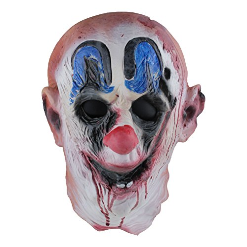 Horror Rob Zombie 31 Head Latex Mask Creepy Zombie Halloween Evil Adult Costume 31 Movie Cosplay -