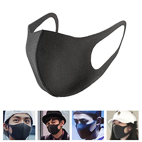Pigeon Skeleton (AMAZZANG-3Pcs Unisex Men Women Cycling Anti Dust Haze Sponge Mouth Face Mask Respirator)